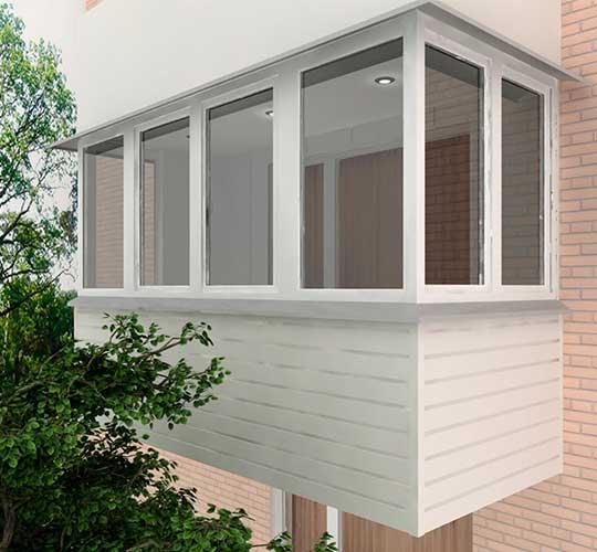 Geamuri calde de balcon